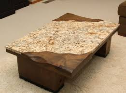 Plans For Wooden Coffee Table by Furniture Desired Granite Coffee Table With Rectangular Shape Can