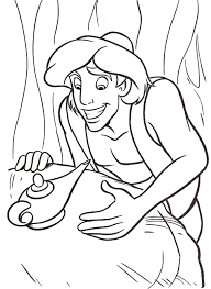 disney u0027s aladdin colouring sheets cute kawaii resources