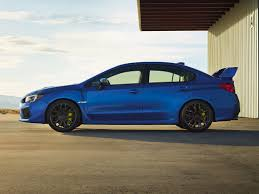 2017 subaru impreza sedan blue 2018 subaru wrx sti base 4 dr sedan at subaru of lethbridge