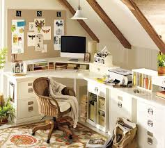 creation of a home office sewing craft room