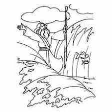 Moses Coloring Pages Free Printables Momjunction Bible Coloring Pages Moses