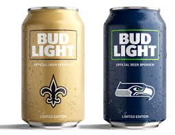 bud light aluminum bottles nfl bud light s popular nfl team cans are back with a new minimalist