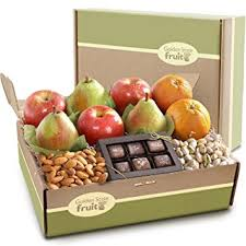 fruit gift boxes golden state fruit gracious giver deluxe fruit gift