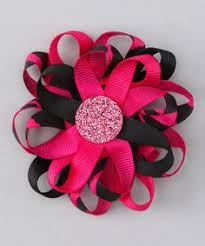 flower bow about baseball bow on baseball and by