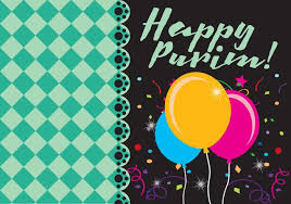 happy purim card free vector stock graphics images
