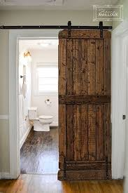 barn door ideas for bathroom bathroom door ideas best 25 bathroom doors ideas on