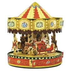 christmas carousel christmas carousels