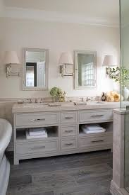 Gray Bathroom - cream and gray bathroom design transitional bathroom
