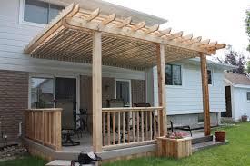 Decking Pergola Ideas by Pergola Diy Deck Plans
