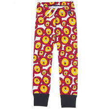 lion print polarn o pyret lion print kids leggings 60281929 341