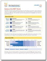 myers briggs test u003e decision making styles career assessment site