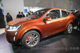 indian car mahindra mahindra xuv aero concept a coupe suv for india