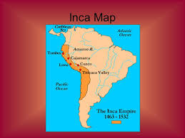 aztec mayan inca map aztec inca ppt