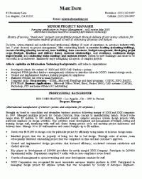 Project Management Resume Examples by Exciting Manager Resume Examples 4 Project Manager Resume Example