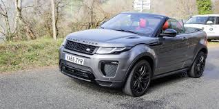 range rover dark green 2017 range rover evoque convertible review caradvice
