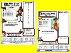 free pre newsletters templates where to find free church