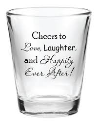 wedding favor glasses 144 personalized 1 5oz wedding favor glass by factory21