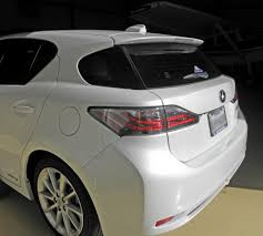 lexus matte white lexus ct200h shark fin antenna u2013 visual garage inc