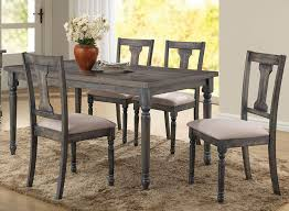 best 25 dining table design best weathered grey finish table set concerning weathered