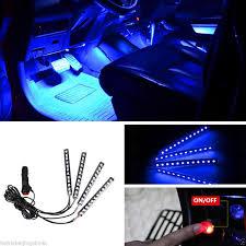 car led light strip amazon com car interior lights ej u0027s super car 4pcs 36 led dc 12v