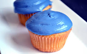 blue food coloring for your superbowl cupcakes u2026 or any blue event