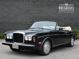 bentley corniche convertible dd classics classic driver