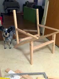 diy mid century modern side chair shelterness