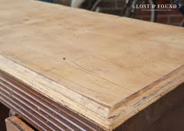 Refinish Wood Paneling How To Refinish A Table Top Or Dresser Part 1 Lost U0026 Found