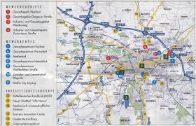 map of leipzig guide to bach tour leipzig maps