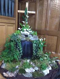 Easter Decorations For Church Altar by Easter Flower Arrangements Church Church Flowers Home Decor