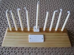 wooden menorah 2011 guide modern menorahs design sponge