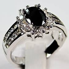 black sapphires rings images Black sapphire ring girly glitz jpg