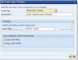 audit management step by step to create an audit sap blogs