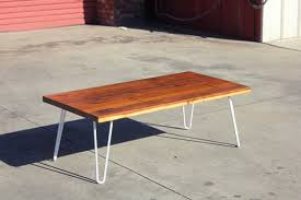 Redwood Coffee Table Reclaimed Redwood Coffee Table Meisch Made