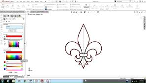 changing the sketch color in solidworks youtube