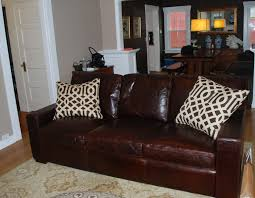 Brompton Leather Sofa Furniture Elegant Restoration Hardware Leather Sofa For Living