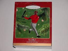 amazon com 2000 hallmark ornament ken griffey jr cincinnati reds