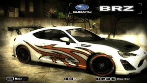 subaru brz custom custom subaru brz by kobayashi san need for speed most wanted