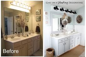 Inexpensive Vanity Lights Inexpensive Bathroom Vanity Makeover Best Bathroom Decoration