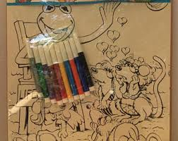 vintage muppet babies coloring posters