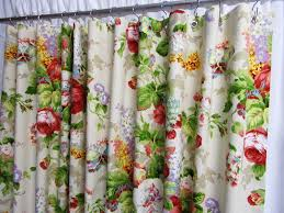Floral Curtains Curtains To Cover Walls Tags Shocking Floral Shower Curtain