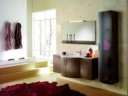 Mirror Ideas For Bathrooms Colors Nice Bathroom Ideas With Contemporary Cabinet With Single Sink And