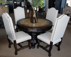 vintage dining room sets vintage dining sets 47 inch travertine top dining table 4