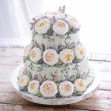 wedding cake surabaya buttercream wedding cakes by ivenoven mon cheri bridals