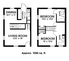 Two Bed Two Bath Floor Plans 2 Bedroom 2 Bath Apartments Marceladick Com