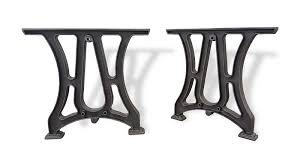 cast iron table bases for sale spacious industrial cast iron dining table base style 4 wood of