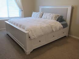 Dg Casa Belmont Storage Platform Bed White King Size Platform Bed With Drawers Bedroom Ideas And
