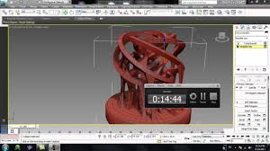 3ds max abstract sculpture modeling youtube