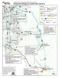 Dart Rail Map King County Council To Consider Changing Dart Routes 907 And 915