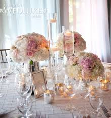 Silver Wedding Centerpieces by Silver Wedding Themes Weddings Romantique Shades Of Pink